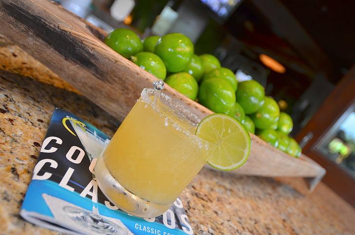 cocktail, dryck, dryck, limefrukter, Margarita, Mexico, Lime