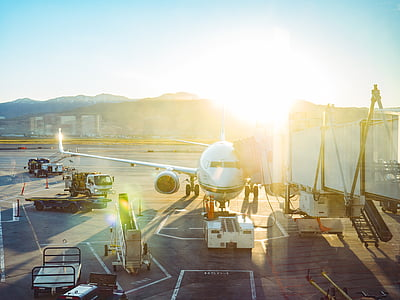 Sân bay, máy bay, giao thông vận tải, đường băng, hãng, xe tải, xe