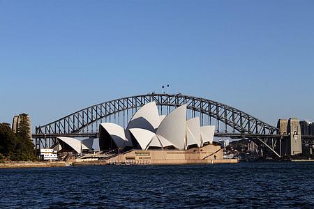 Sydney Ooperimaja, arhitektuur, Austraalia, Austraalia, Landmark, Harbour, Harbor