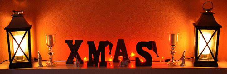 Xmas, jõulud, kiri, Advent, talvel, x mas, jõulude ajal
