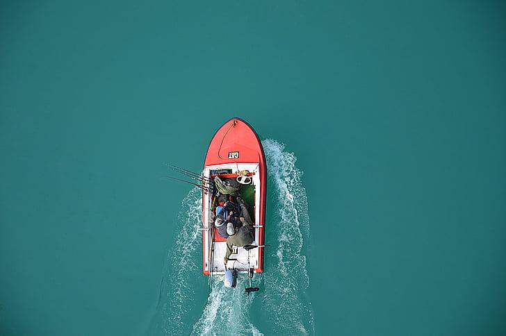 båt, sjön, fiskaren, fiskefartyg, navigering, motorbåtar