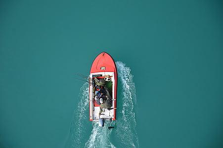 boat, lake, fisherman, fishing vessel, navigation, motor boats