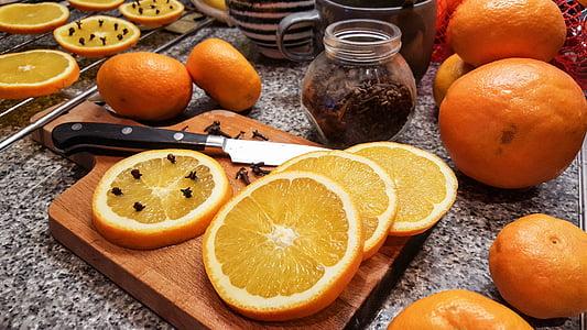 oranž, apelsinid, nelk, tervise, jõulud, maasika, teenetemärgi