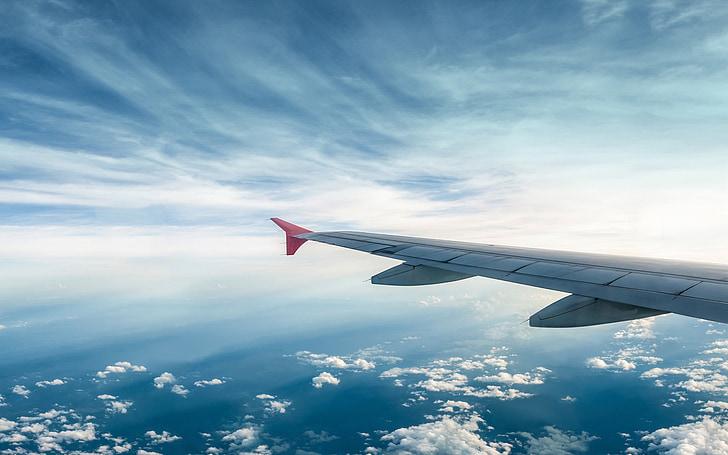 lietať, dom, Sky