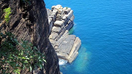 Srí lanka, pobrežie, more, Trincomalee, koneshwaran, modrá voda, čistá voda