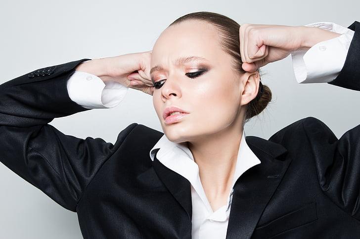 girl, fashion, makeup, beauty, model, russian, menswear