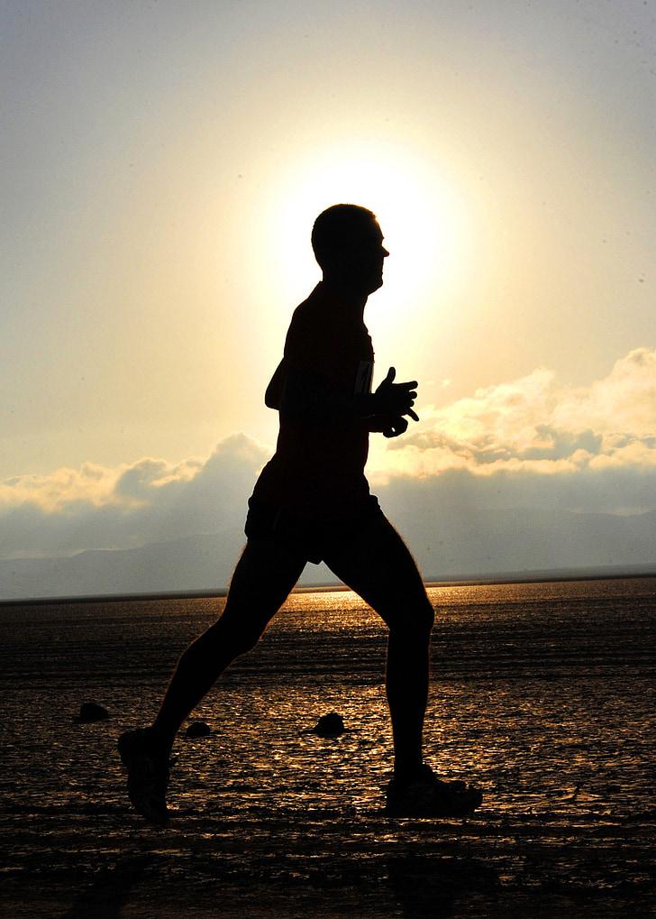 löpare, långa avstånd, Fitness, kör, längdskidåkning, idrottsman nen, uthållighet