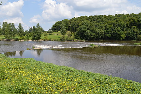 riu, paisatge, l'aigua, natura, l'aire lliure, natural, medi ambient