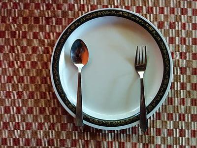 Restaurant, aliments, placa, menjador, menjar, Amanida, dieta