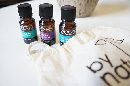 olis essencials, lavanda, arbre del te, eucaliptus