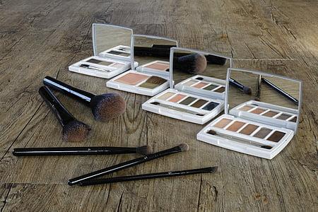 Косметика, складають, макіяж, Краса, колір, тіні, порошок