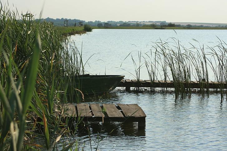 τοπίο, Λίμνη, προκυμαία, δίπλα στη λίμνη