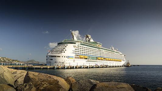 äventyr av haven, Karibien, kryssningsfartyg, havet, passagerarfartyg, nautiska fartyg, resor