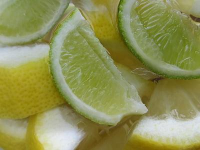 llimona, Limone, beguda, còctel, fruita, groc, vitamines