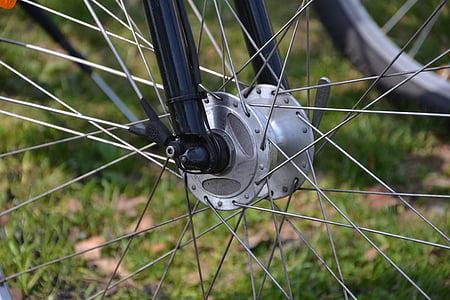 spieķi, velosipēds, ar velosipēdu, velosipēdi, Sports, rats, velosipēdu