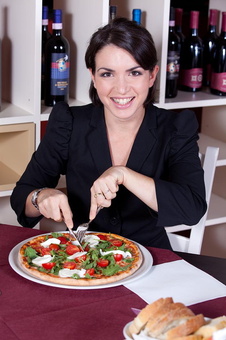 pizzes, Restaurant, pizzeria, aliments, alfàbrega, tomàquet, bellesa