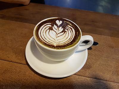 kafijas, latte, kapučīno, espreso, Kafejnīca, dzēriens, kauss