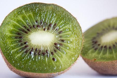 ακτινίδιο, φρούτα, κομμένα, υγιεινή, τροφίμων, φρέσκο, ζουμερά