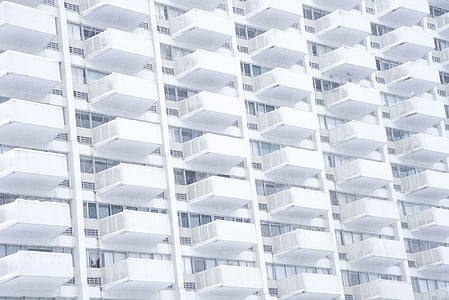 tinggi, putih, bangunan, pencakar langit, arsitektur, tinggi, naik