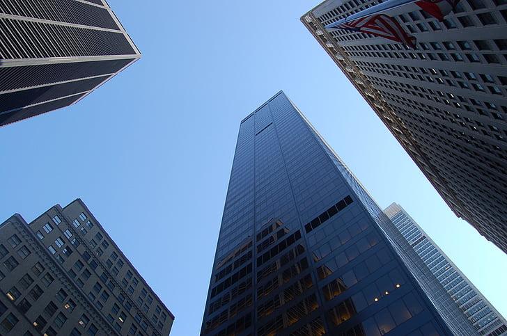 건물, 아키텍처, 구조, 고층 빌딩, 스카이, 스카이 스크 래퍼, 오피스 빌딩