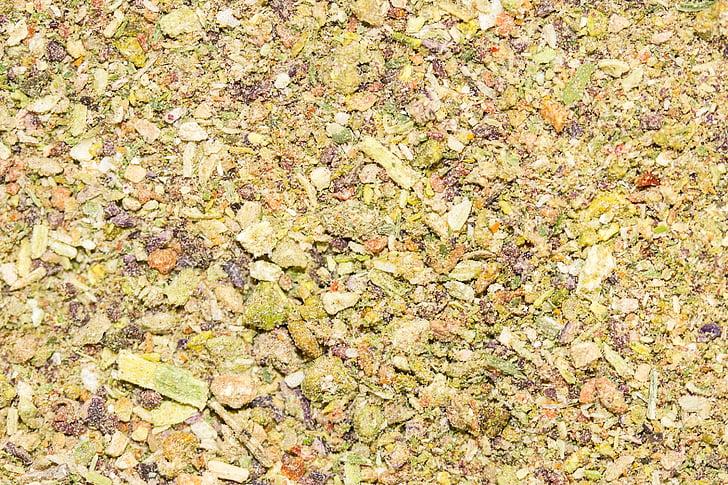 Bouillon, köögiviljapuljongit, taimsed pulber, lahustuv pulber, Kuivatatud köögiviljad, taustad, lehed