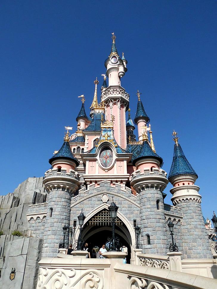 Disneyland, tidur Kecantikan, Castle, Paris