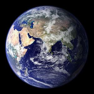 terra, planeta blau, globus, planeta, espai, univers, tots els