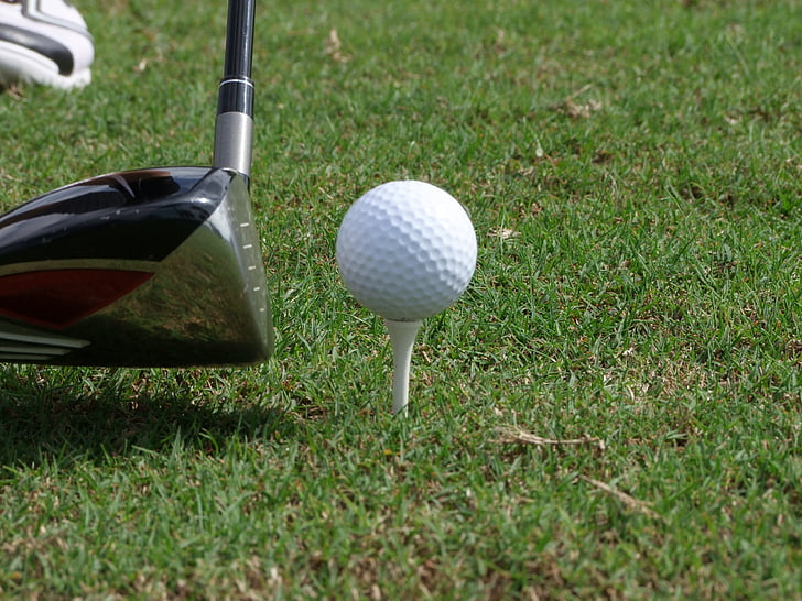 golf, ball, tee, golf clubs, green, rush, sport