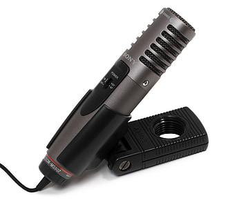 sony, microphone, ecm, ms907