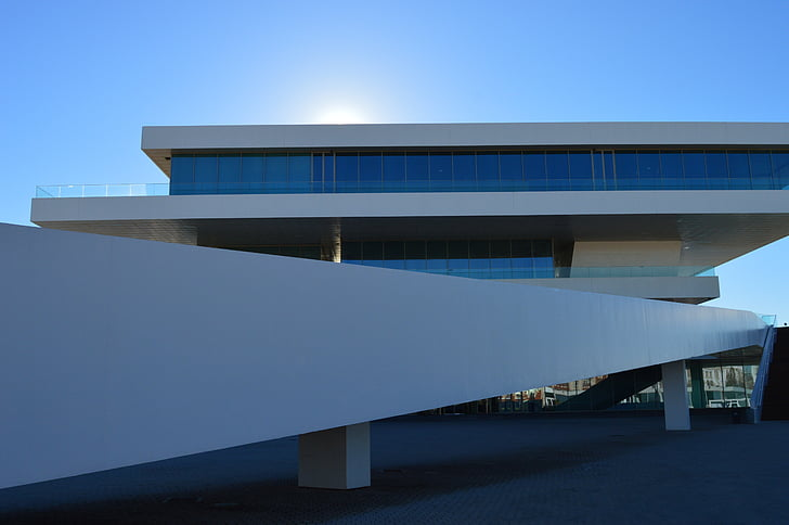 Valencia, zgrada, arhitektura, luka
