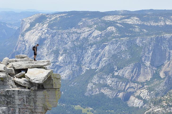 montanha, Canyon, paisagem, viagens, aventura, escalada, dia