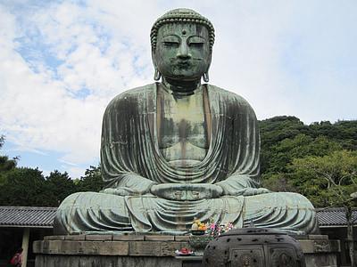 Buddha, socha, Buddhismus, náboženství, sochařství, náboženské, starověké