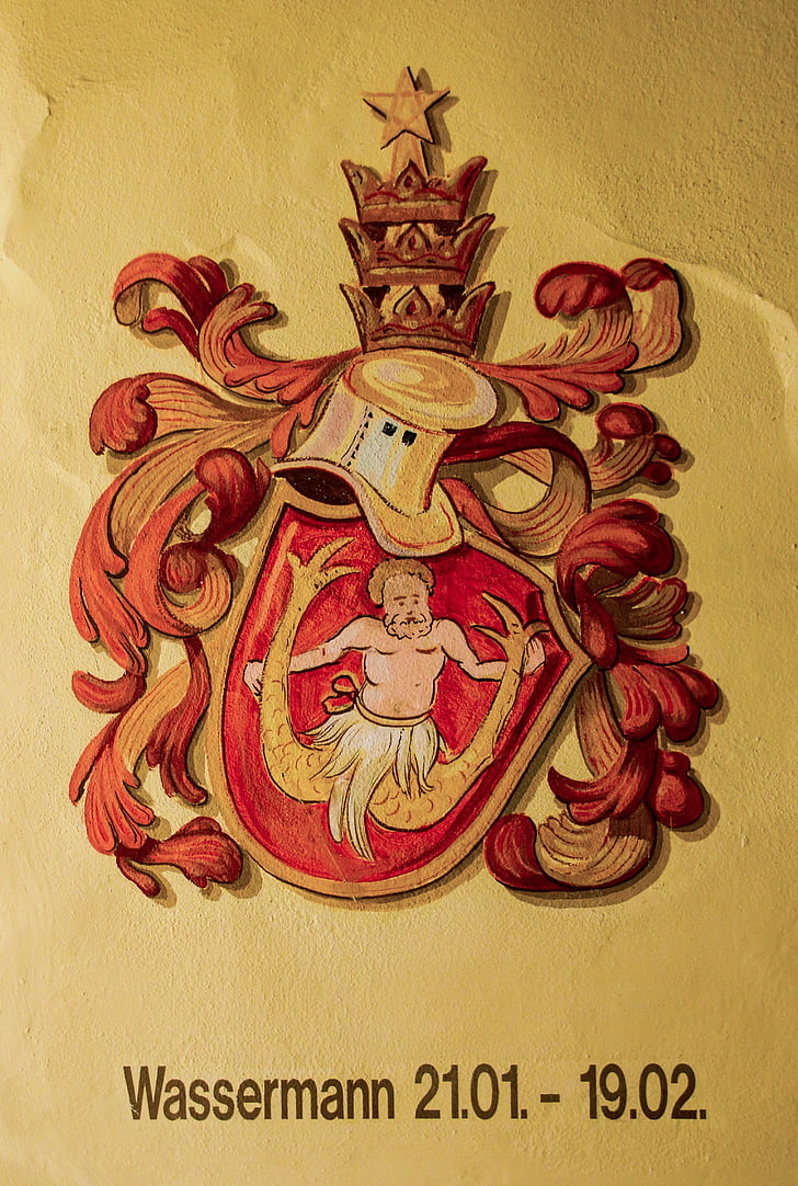 sterrenbeeld, Horoscoop, Astrologie, Waterman, tekens van de dierenriem, symbool