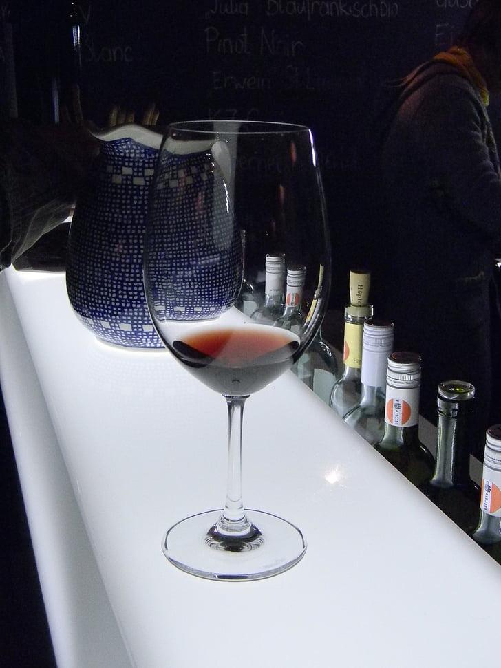 veini klaasi, punane, punane vein