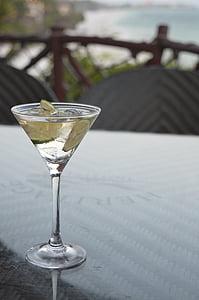 Martini, klaas, pühad, jook, alkoholi, kokteil, Martini klaas