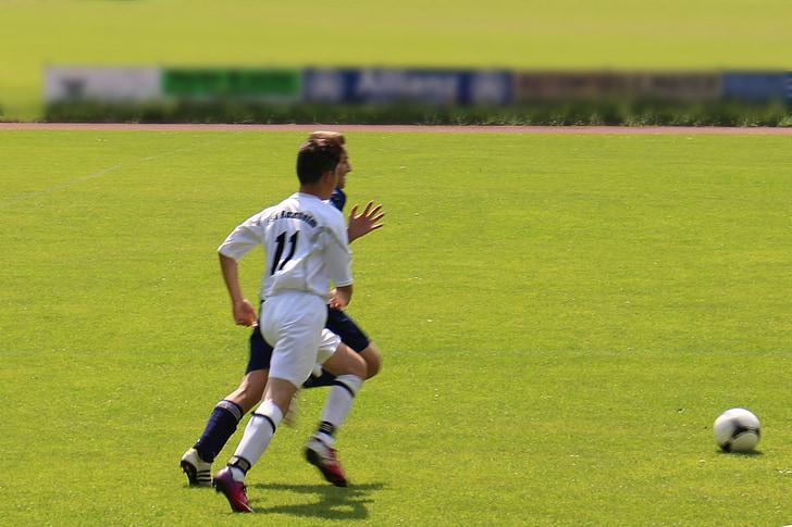 bóng đá, sân cỏ bóng đá, vội vàng, người chơi, cầu thủ bóng đá, cầu thủ bóng đá, phong trào