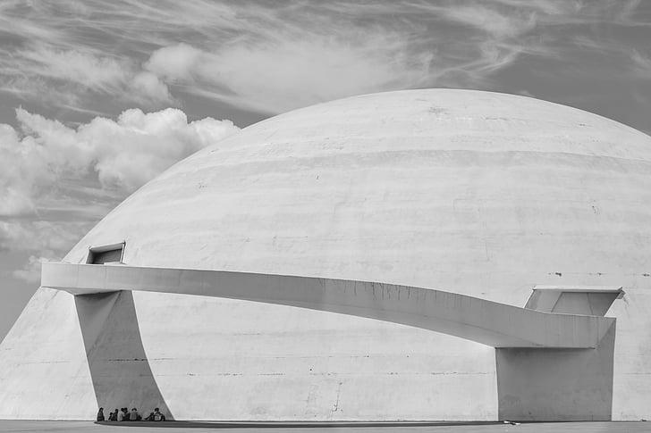 Brasilia, Niemeyer, arhitektuur, Moodne arhitektuur