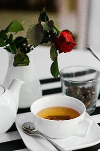 te, cafè, Expresso, cafeteria, porcellana, ceràmica, la beguda
