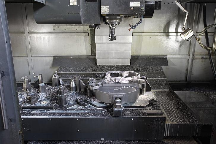 industrial, màquina, processament
