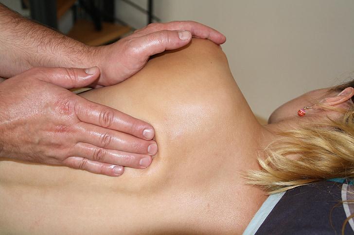 massage, stress, thérapie, Spa, Wellness, massage du dos, maux de dos