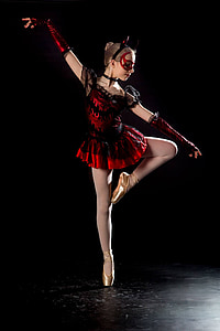 dancer, ballet, ballet dancer, ballerina, girl, performer, elegance