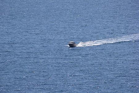 havet, båt, Ocean, resor, fartyg, vatten, sommar