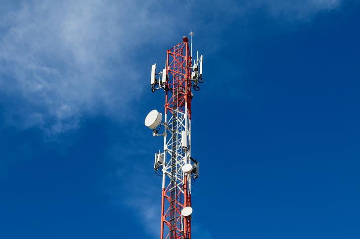 aerial, communication, connection, telecommunication, telecom, antenna, broadcasting
