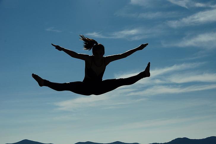 nhảy múa, tập yoga, người phụ nữ, phụ nữ, cơ thể, hoạt động ngoài trời, nhảy