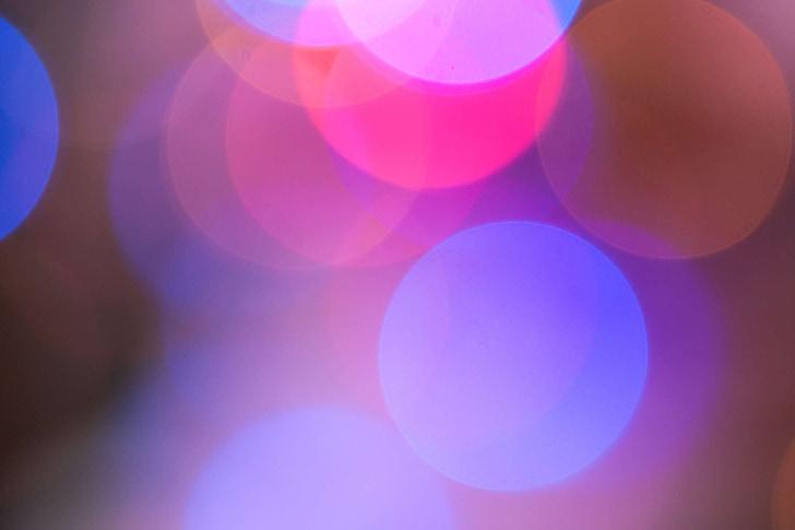 difusa, resum, colors, múltiples colors, dibuix, cercle, alegria