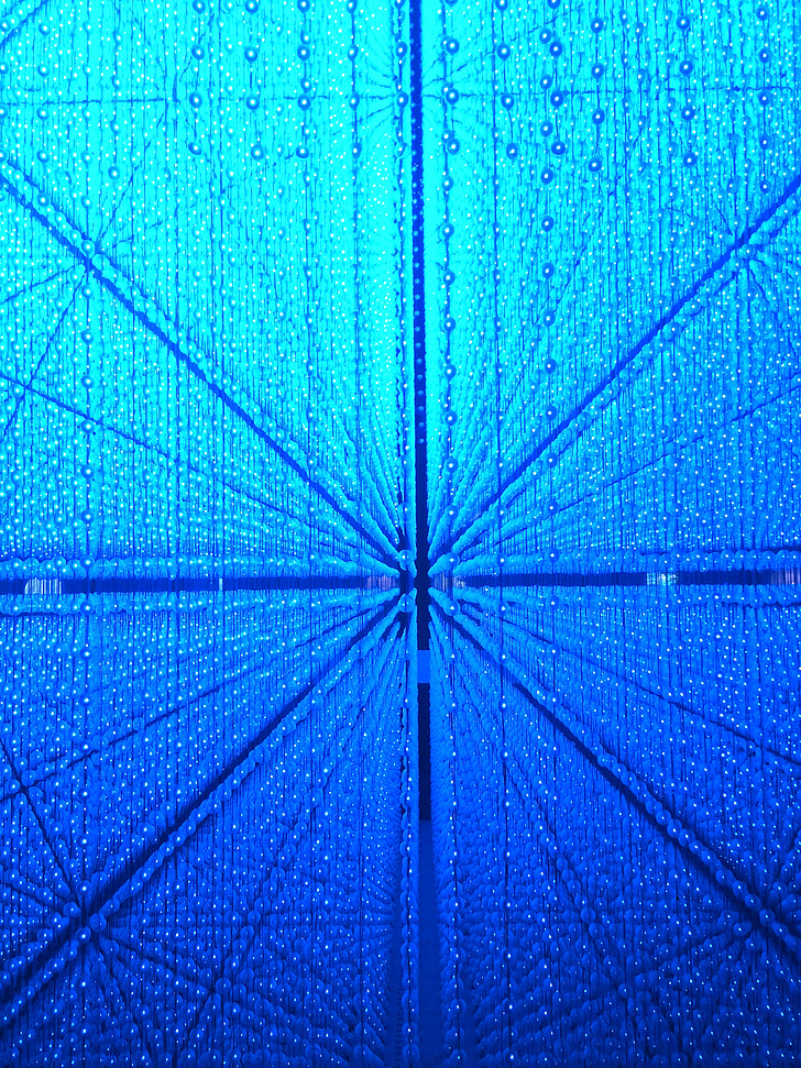 blue, science and technology, glass, abstract, mode