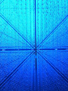 blau, Ciència i tecnologia, vidre, resum, mode de