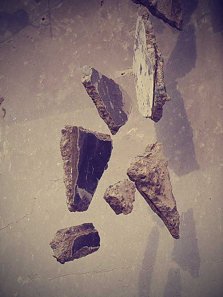 естествени, камък, природата, фонове