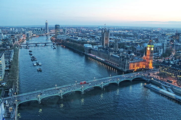 Lontoo, Big ben, Yhdistyneen kuningaskunnan parlamentin päätös, thames-joen