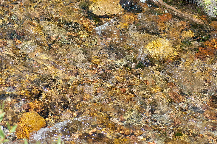 Creek, Rocks, vatten, konsistens, naturen, bakgrunder, Rock - objekt